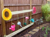 Early Years sensory garden water play