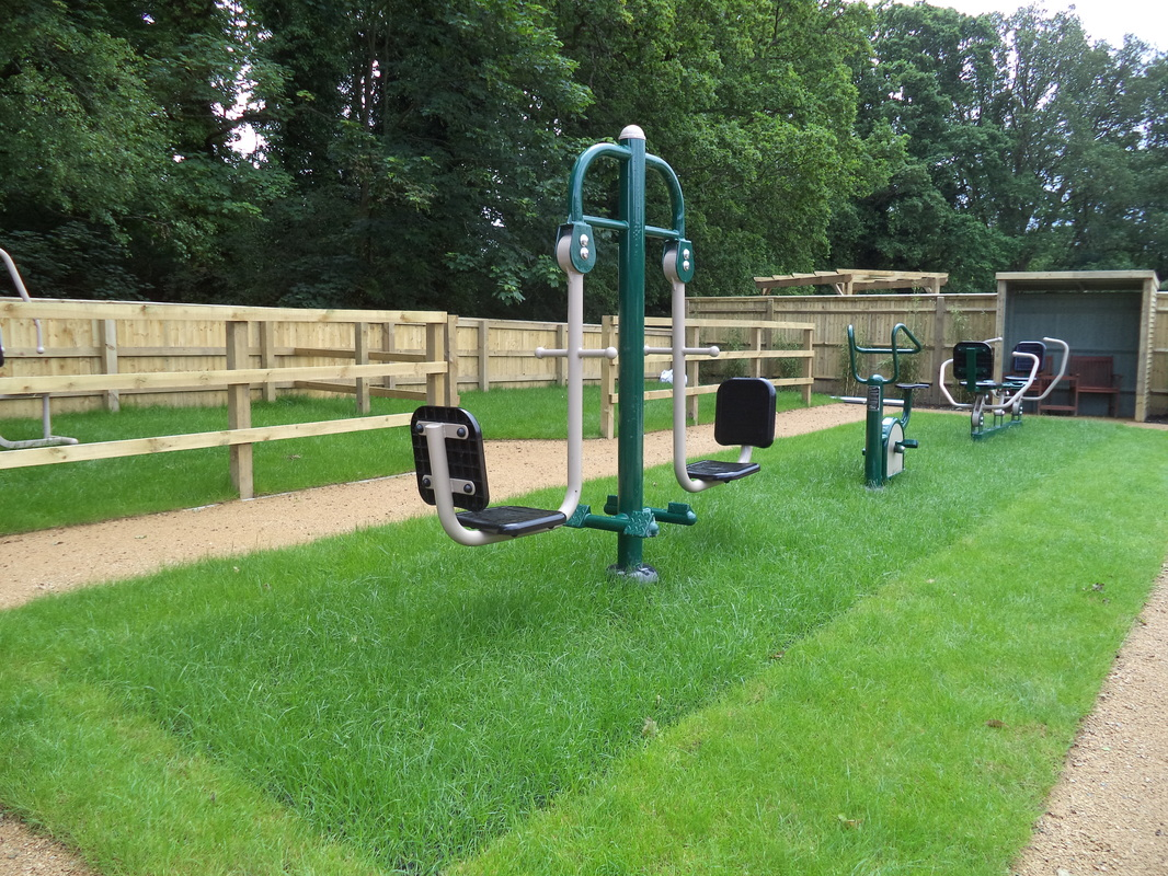 ASD special needs playground, outdoor gym equipment